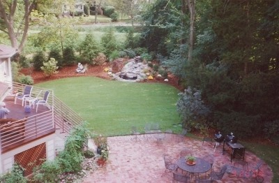 Design  Yard on Photo Of A Total Backyard Design By Rudy S Tree And Landscape